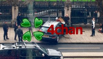 Mensaje de 4chan publicó las coordenadas del atentado en Londres un día antes