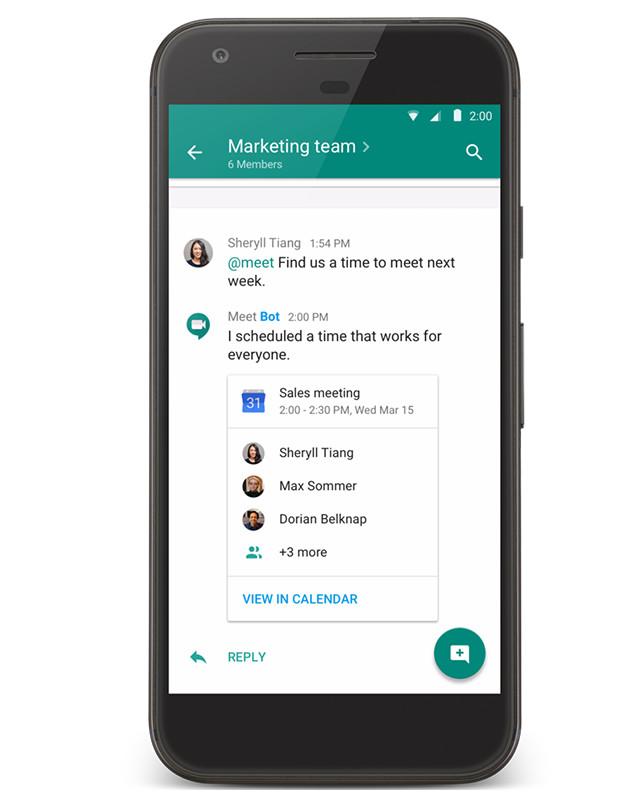 Así será el nuevo rediseño de Google Hangouts enfocado a las empresas