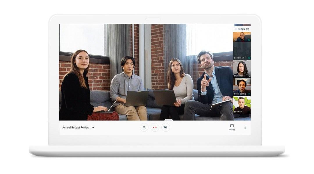 Así será el nuevo rediseño de Google Hangouts