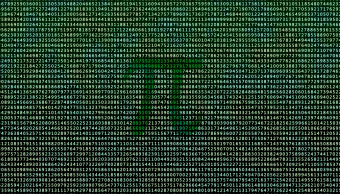 Una serie de números para formar Pi