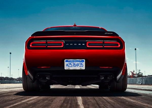 El Dodge Challenger SRT Demon es tan increíble que no parece apto para la calle