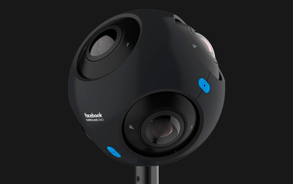Las nuevas cámaras de Facebook están pensadas 100% para la realidad virtual