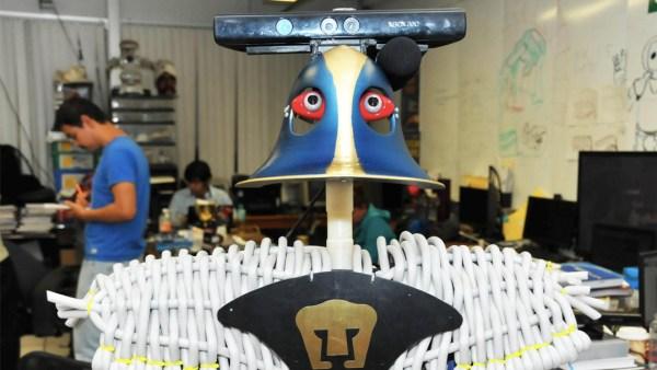 el robot de la UNAM se llama Justina