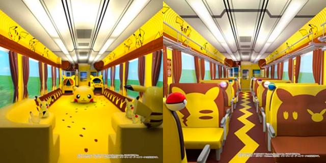 Este tren de Pikachu promete elecrizantes horas de diversión mientras recorre Japón