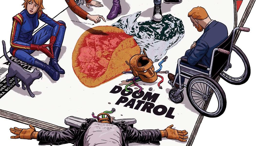 Doom Patrol Gerard Way Official Playlist_2 en Spotify