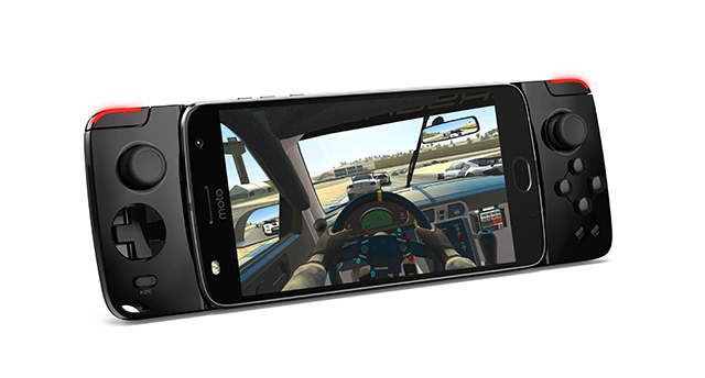 El nuevo Moto Z2 Play es más ligero y tiene un módulo que lo vuelve una consola portátil