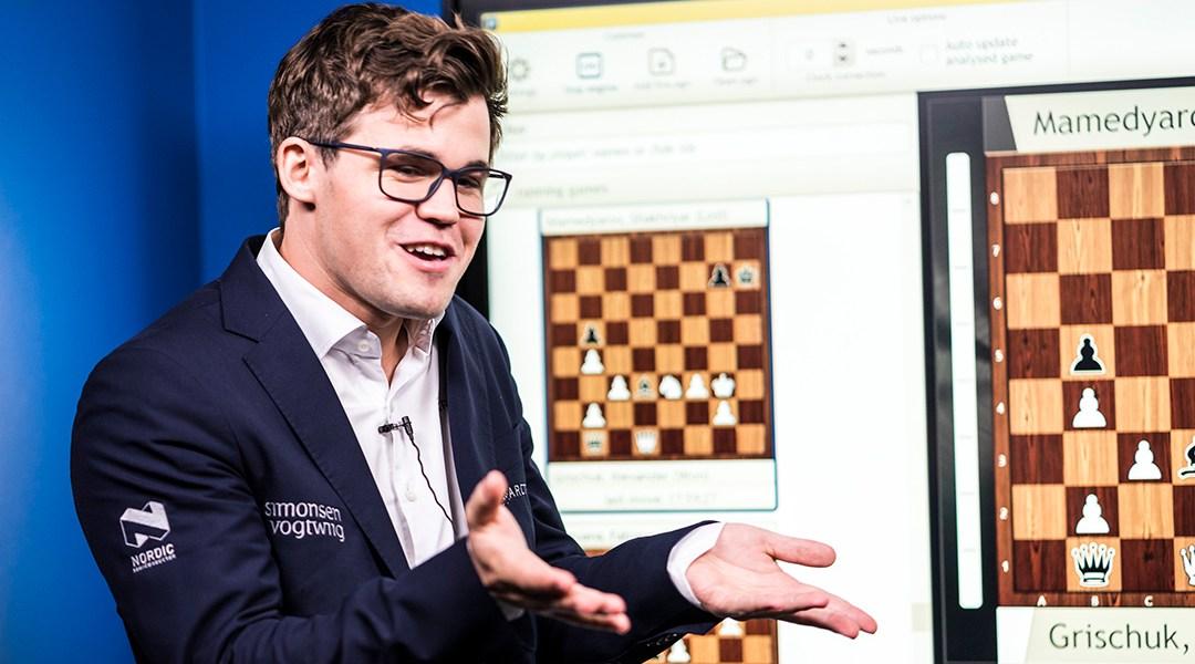 Magnus Carlsen, el actual campeón mundial de ajedrez