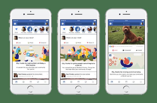Nuevos videos personalizados de Facebook