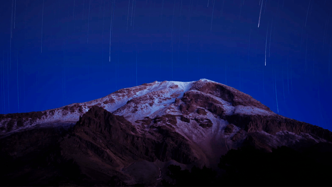 Esta Timelapse del Pico de Orizaba nos muestra su belleza como nunca antes