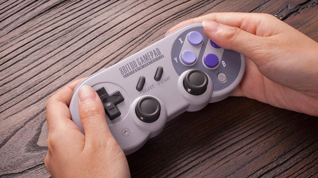 Este control es un homenaje al SNES y tiene todo lo que se necesita para cualquier juego
