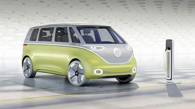 La nueva Combi es un vehículo 100% eléctrico.