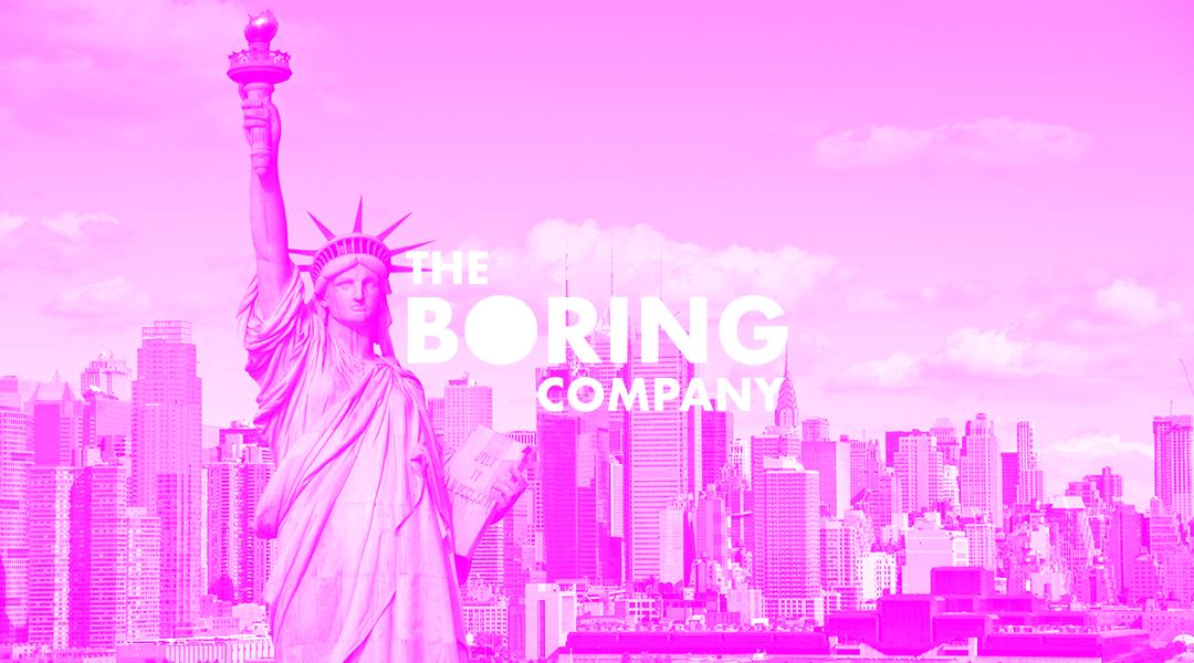 Elon Musk tiene un acuerdo verbal para llevar Boring Company a N.Y.