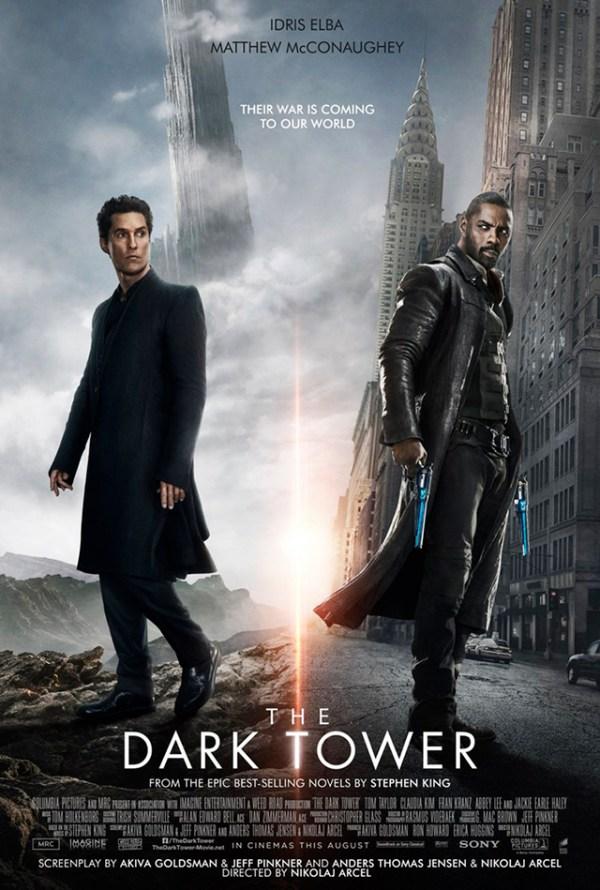 Liberan nuevos pósters de The Dark Tower y lucen increíbles