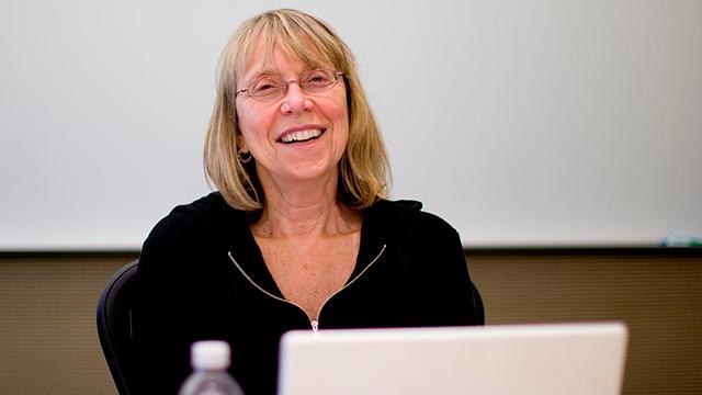 Esther Wojcicki, presidenta del consejo de administración de Creative Commons