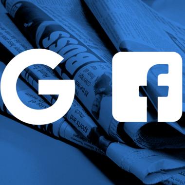 Los medios en EE.UU. se están quejando de Facebook y Google