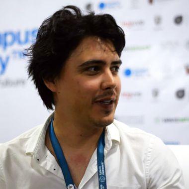 Jordi Muñoz habló en Campus Party México 2017