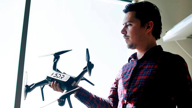 Jordi Muñoz es uno de los confundadores de la compañía 3D Robotics