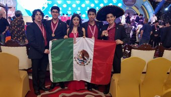 Mexicanos obtienen el 3° lugar en las olimpiadas de física en Indonesia
