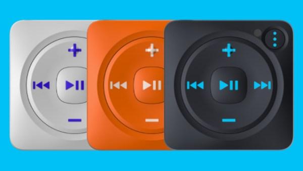 El diseño de Mighty nos remite irremediablemente al iPod Shuffle.