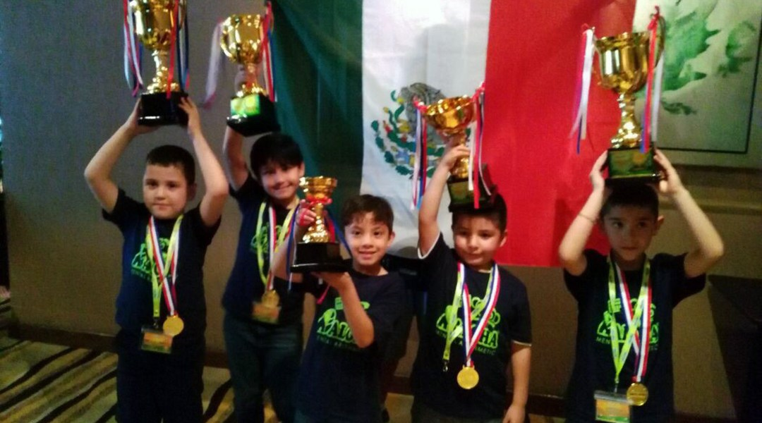 Pequeños gigantes mexicanos triunfaron en campeonato internacional de matemáticas