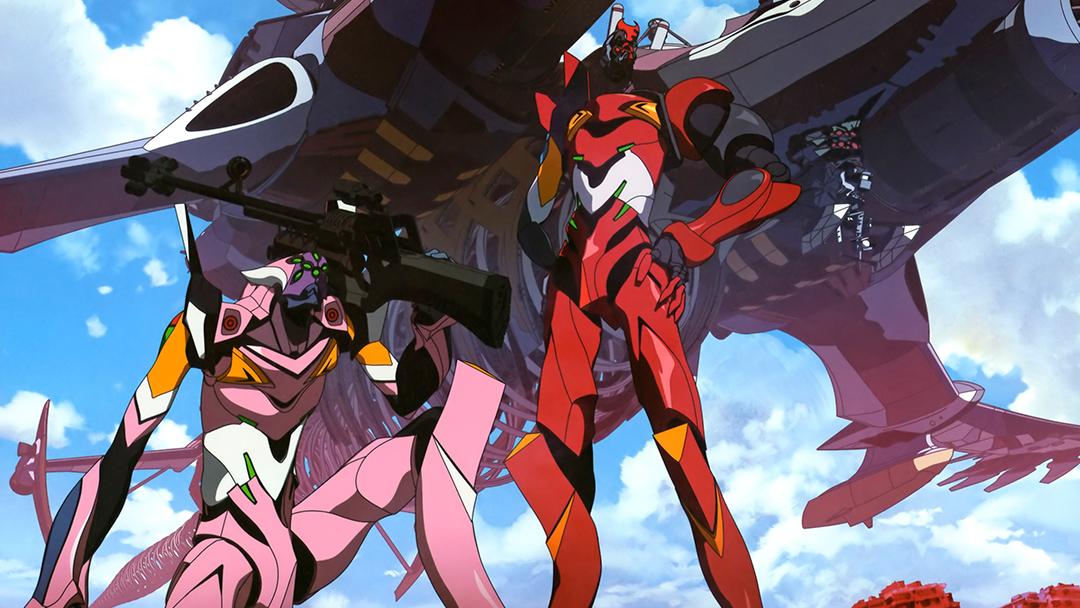 Imagen promocional de una de las películas de Rebuild Evangelion
