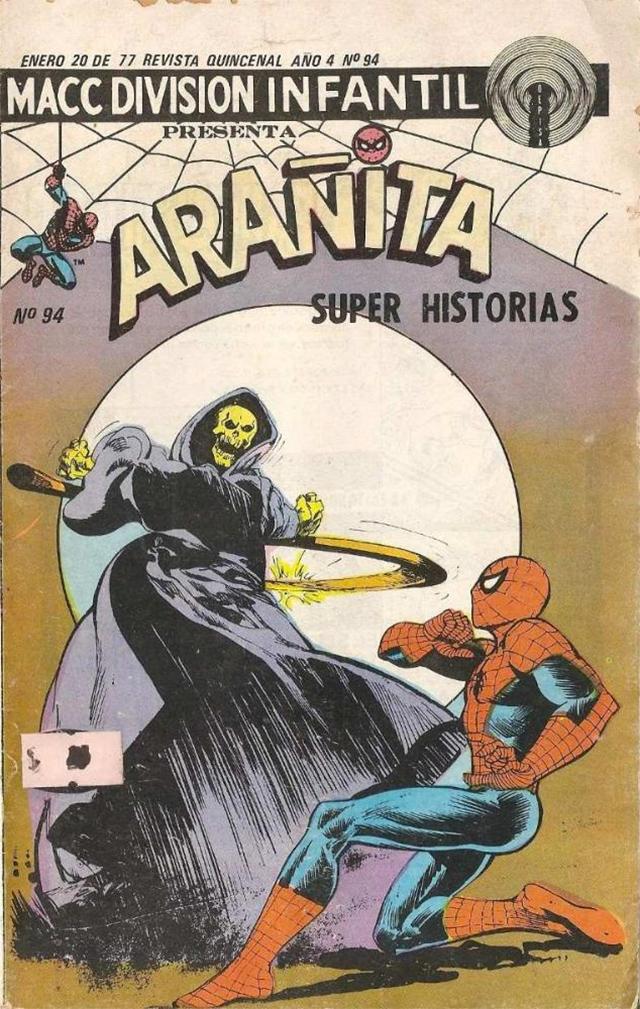 Portada de Arañita Super Historias