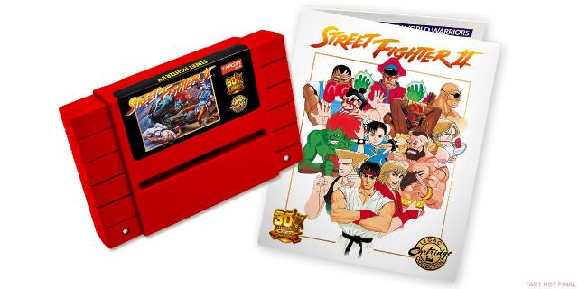 Capcom producirá nuevos cartuchos de Street Fighter II