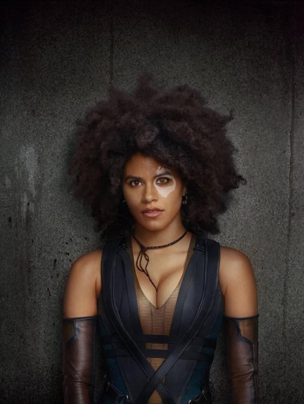 Zazie Beetz nos da un acercamiento a su look de Domino para Deadpool 2