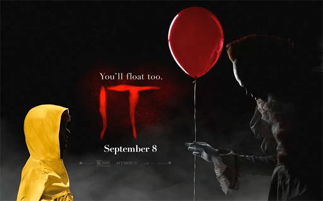 poster oficial de IT, el remake de ESO