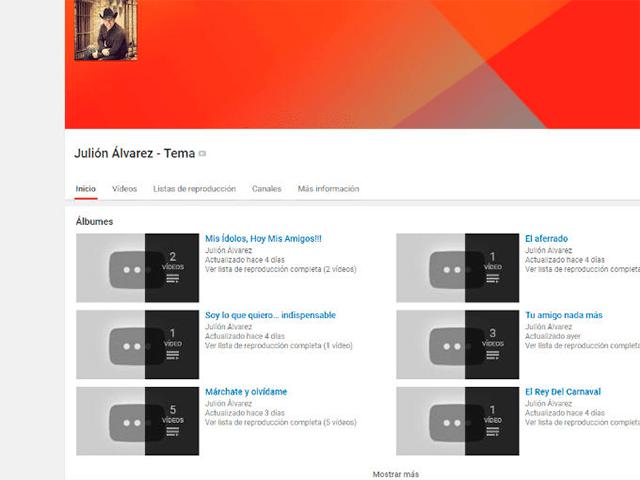 YouTuber oficial de Julion Alvarez