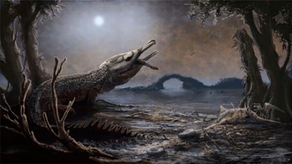 un cocodrilo prehistórico nombrado en honor a  Lemmysuchus
