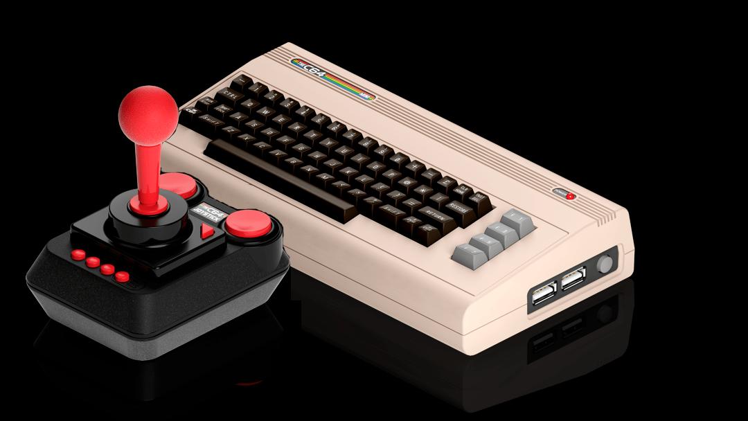 la consola retro inclurá un joystick