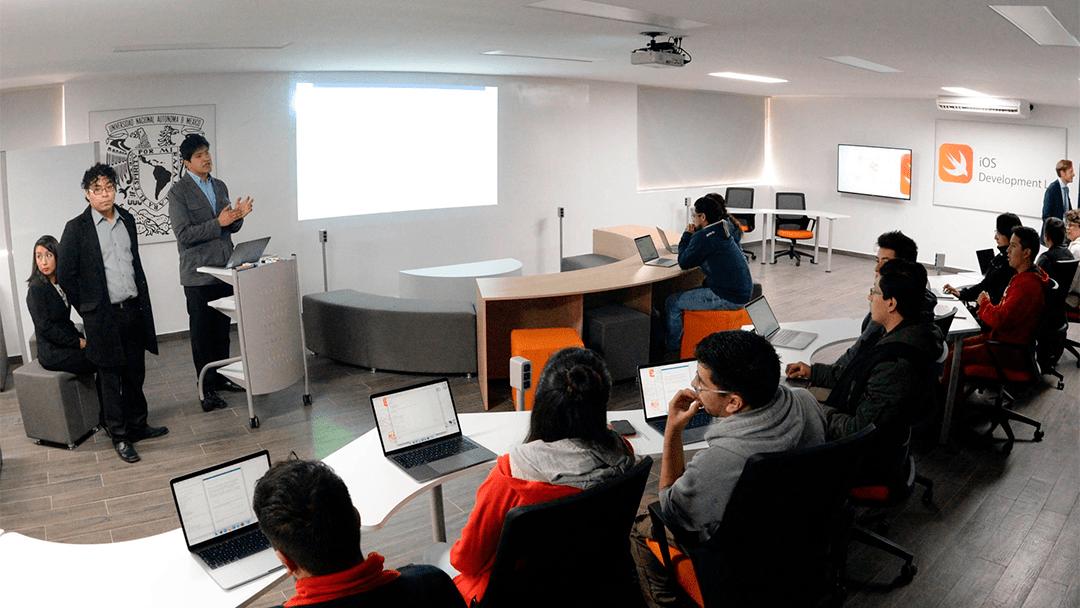 Laboratorio de la UNAM de iOS