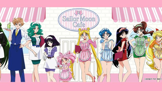 Sailor Moon Cafe abrirá en Japón