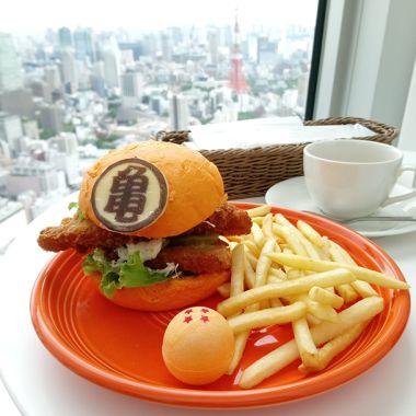 Esta hamburguesa de Dragon Ball saciará tu hambre