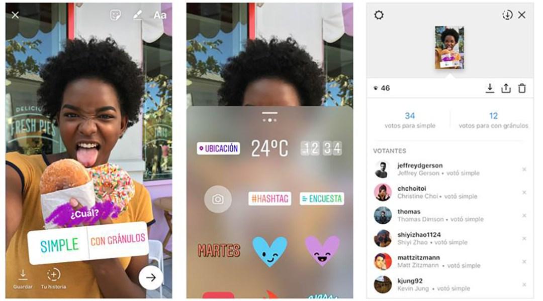Instagram Acaba De Agregar Encuestas Interactivas En Sus Stories