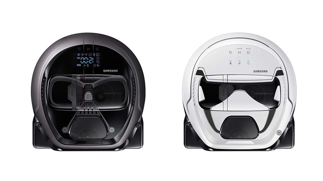 La nueva aspiradora de Samsung está inspirada en Star Wars