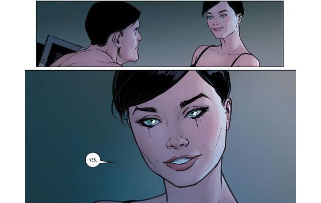 Selina Kyle acepta casarse con Bruce Wayne