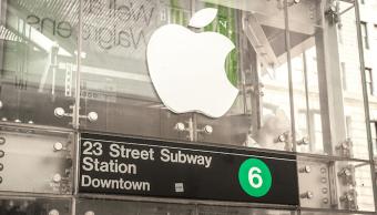 Transforman un elevador en una Apple Store falsa