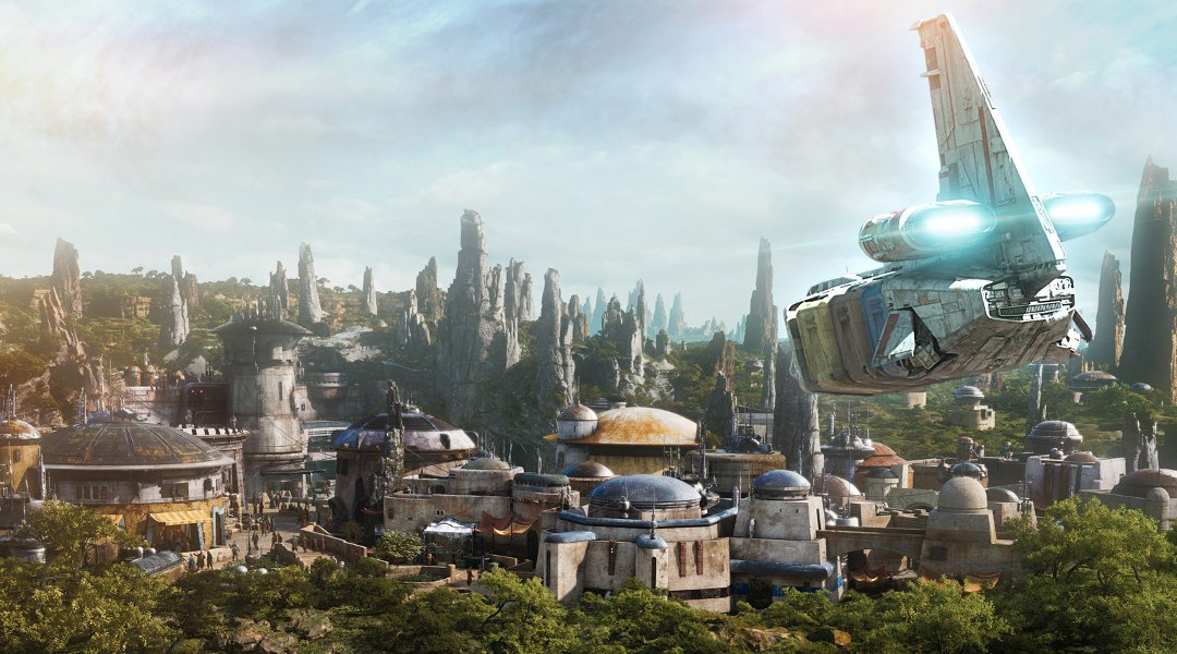 batuu Star Wars: Galaxy's Edge Planet