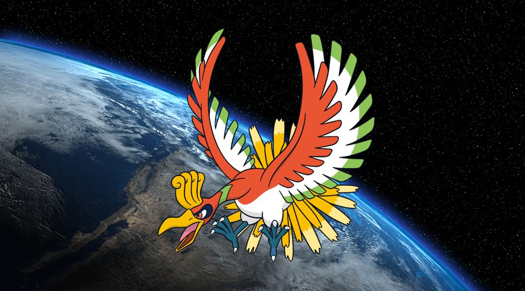 Ho-Oh, el Pokémon legendario, ya llegó a Pokémon Go