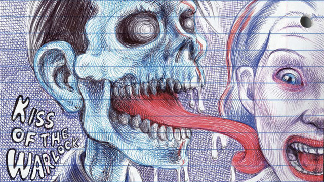 Fragmento de un dibujo de My Favorite Thing Is Monsters