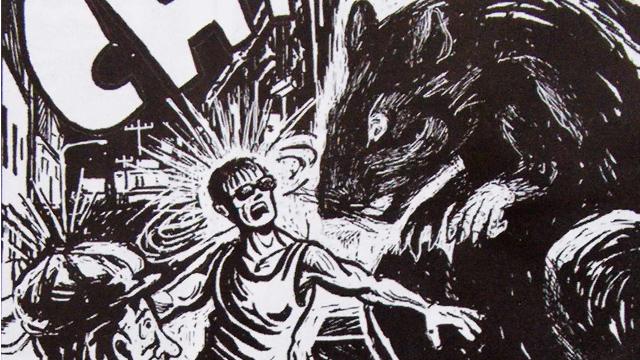 La rata de la Merced a punto de atacar