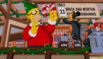 una imagen de la serie Los Simpson