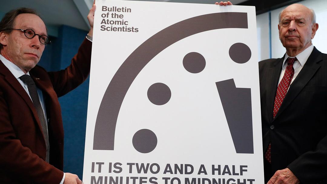 Reloj fin del mundo apocalipsis dommsday clock