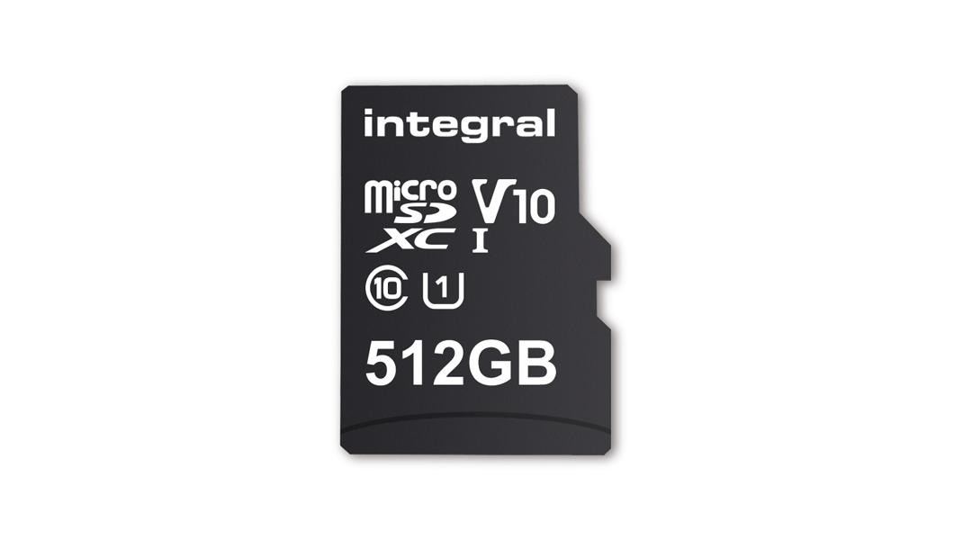 Nueva tarjeta de Integral Memory es la microSD más grande hasta hoy