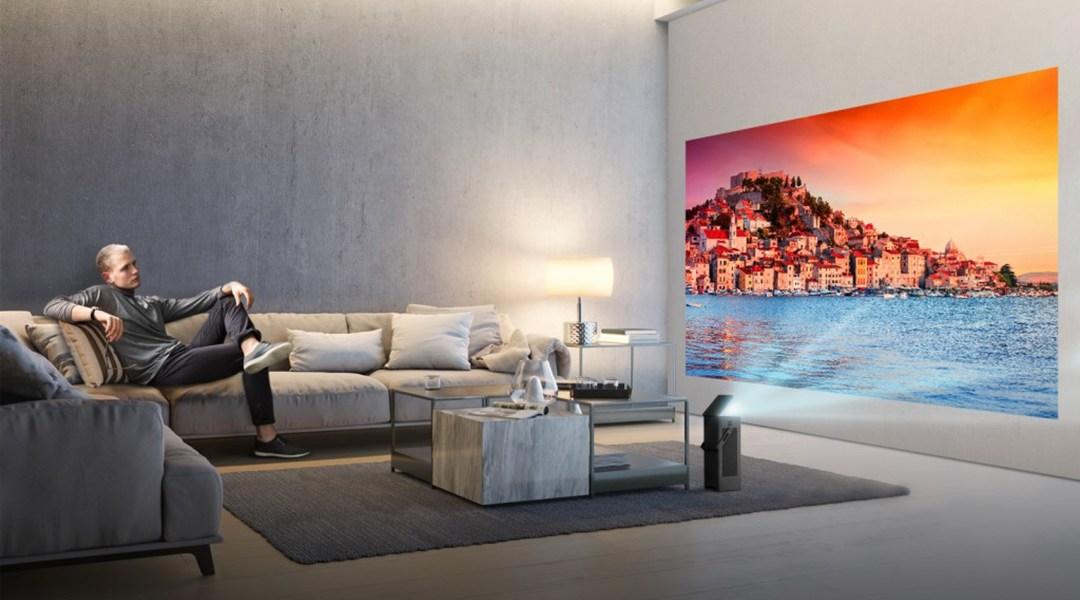 LG tendrá un mini proyector 4K en la CES 2018