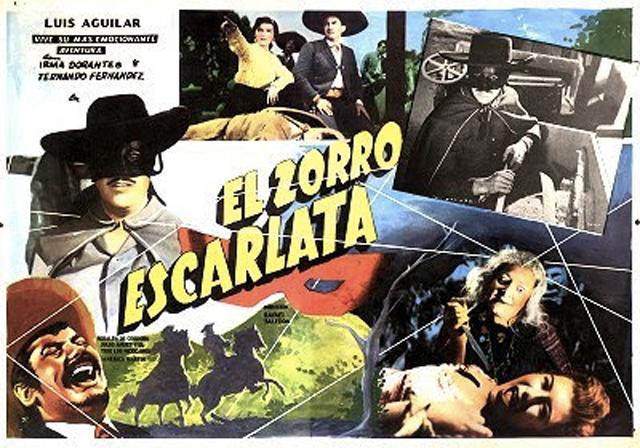 Póster de la película El Zorro escarlata
