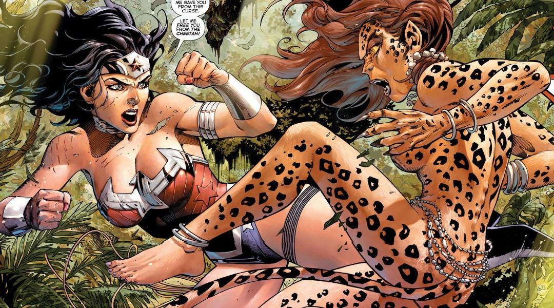 wonder woman vs the cheetah