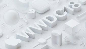 Apple WWDC 2018 logo del evento